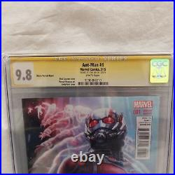 SIGNED STAN LEE ANT-MAN 1 CGC 9.8 SS MOVIE VARIANT AVENGERS Spider-man