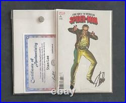 SPECTACULAR SPIDER-MAN #6 SIGNED STAN LEE WithCOA AMAZING 1 CAMPBELL VARIANT