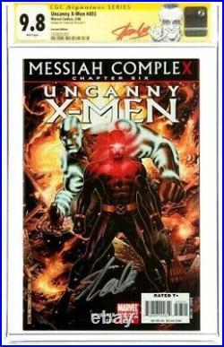 STAN LEE Signed 2008 Uncanny X-MEN #493 SS Marvel Comics CGC 9.8 NM/MT Variant