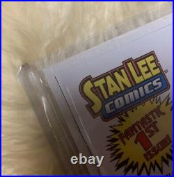 STAN LEE's MIGHTY 7 #1 UNGRADED great Condition signed STAN LEE Variant Cover