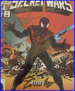 Secret Wars #1 CGC 9.8 SS 4X STAN LEE, Zeck, Beatty, Shooter Signed Variant