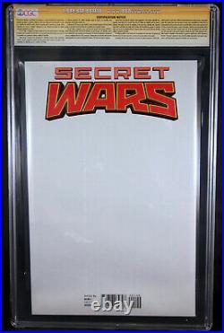 Secret Wars 1 Cgc 9.8 Ss Signed 2x By Stan Lee & Ed Mcguinness Sketch Variant