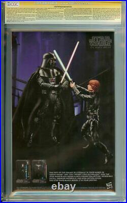Signed By Stan Lee/ Scott Campbell Ss Star Wars #1 Cgc 9.8 White Pages Variant