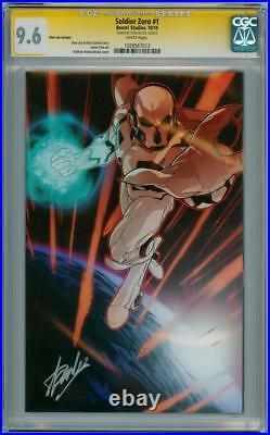 Soldier Zero #1 Stan Lee Variant 1300 Cgc 9.6 Signature Series Signed Stan Lee