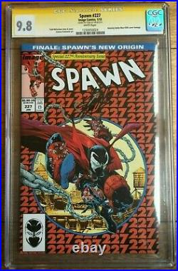 Spawn #227 Variant Rare signed by Stan Lee CGC SS 9.8 1230050024