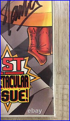 Stan Lee Signed Captain America #1 Psa Dna Coa Direct Edition Variant Nov 1996
