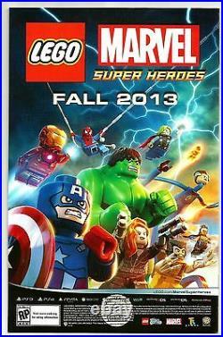 Stan Lee Signed Superior Spider Man #19 Lego Variant Comic With Stan Lee Hologram
