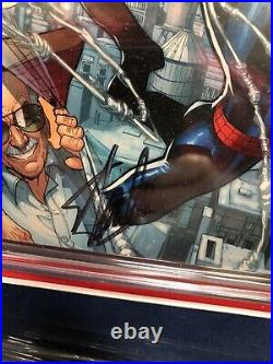 Stan Lee signed CGC Signature Series Comic 9.0 Custom Framed Tampa VARIANT EDIT