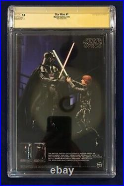 Star Wars #1 Alex Ross Color Variant 150 CGC 9.8 Signed by Stan Lee on 10/23/18