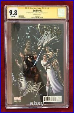 Star Wars 1 Campbell Variant 150 CGC 9.8 Signed- Stan Lee on 11/4/18 & Campbell