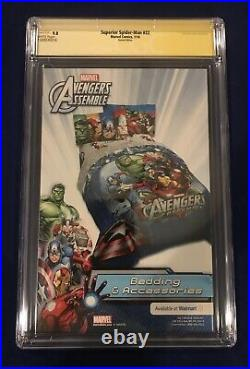 Superior Spider-Man #22 Campbell Variant 150 CGC 9.8 Signed by Stan Lee 11/8/18