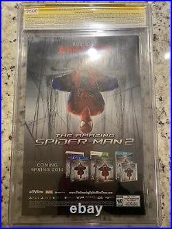 Superior Spider-Man #31 CGC 9.8 Signed 2X STAN LEE & Maguire SS Variant ASM