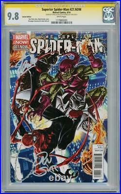 Superior Spider-man #27 Variant Cgc 9.8 Signature Series Signed Stan Lee & Slott