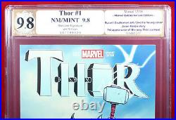 THOR #1 (Marvel) PGX 9.8 NM/MT Near Mint Young Variant signed STAN LEE! +CGC