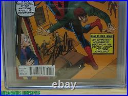 The Amazing Spider-Man #700 Marvel CGC 9.6 1200 Ditko Variant Stan Lee Signed