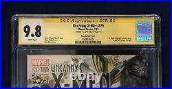 Uncanny X-Men #29 Alex Ross 75 Years Color Variant 175 CGC 9.8 Signed- Stan Lee
