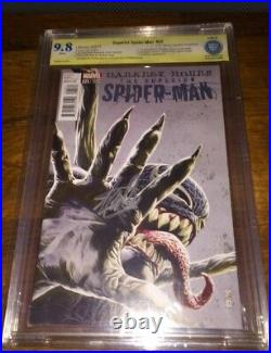 Venom Variant 9.8 Jg Jones 150 Superior Spider-man 25 Variant Signed Stan Lee