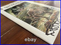 Witcher #1 (2014) RARE VARIANT 1ST APP GERALT Dark Horse VF/NM SIGNED STAN SAKAI
