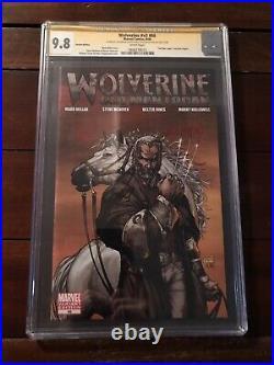 Wolverine #66 Old Man Logan CGC 9.8 Variant Signed Stan Lee, Len Wein & Vines