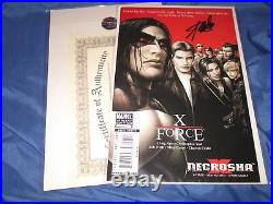 X-FORCE #1 Signed Stan Lee withCOA Lost Boys Variant Cover (X-23/Wolverine)