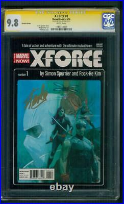 X Force 1 CGC 9.8 SS Stan Lee Signed Noto X Men Novel Movie Poster style Variant