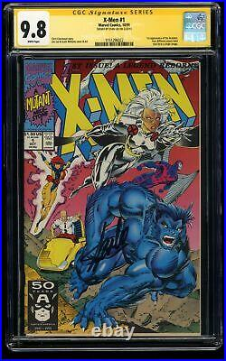 X-Men (1991) #1 CGC NM/M 9.8 White Pages SS Signed Stan Lee Storm Beast Variant
