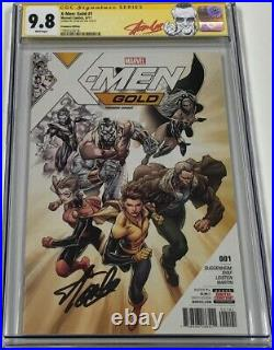 X-men Gold #1 Recalled Premiere Variant Signed by Stan Lee CGC 9.8 SS Red Label